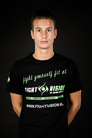 Trainer Jolano Lindelauf Karate Sittard - Fight Vision